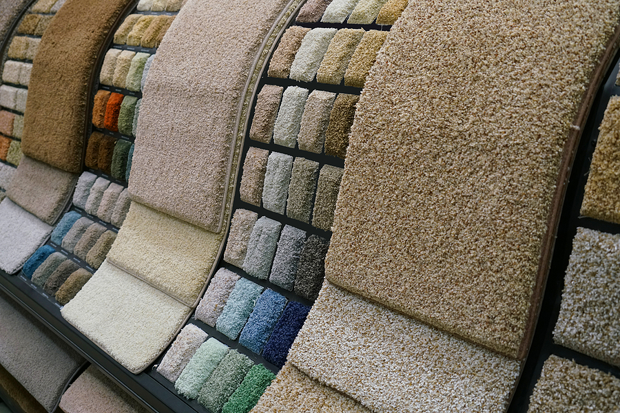 Pastel colored rugs